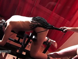 Valerie Total Devotion To The Bondage Chair