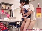 Japanese teen girlfriend cocksucking bf dick