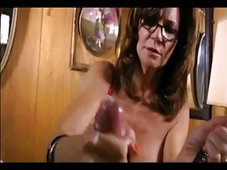 glasses slave breasted MILF with milking Hot dominant
