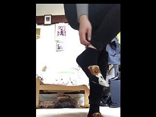 Japanes girl Socks Take away and Candy Feets