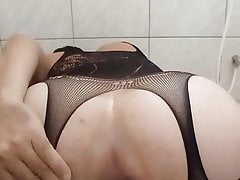 Lingerie nova.  Big ass largo