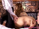 Rimmed japanese mom railed doggystyle