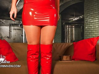 heel! slave dog training and licking spit of lady julinaPorn Videos