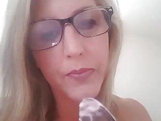 Dionne Byer loving her  cum