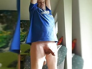 in Strip my face mouth and and cum play n