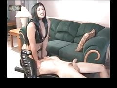 Slave Must Slurp His Domina Rump Tidy And Satiate Her