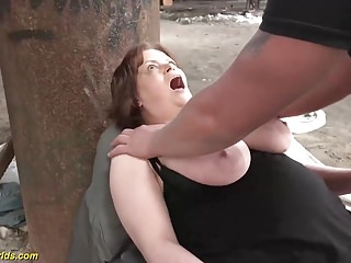 German bbw fucked...