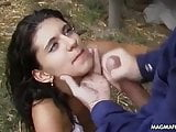 MAGMA FILM Milf anal fucked at a farm outdoor