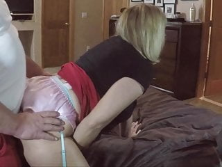 Lingerie Blonde porno: Hot Wife, Easter Treat