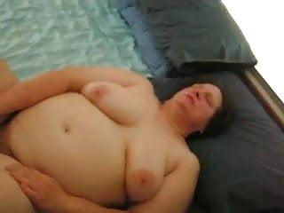 Granny masturbating...