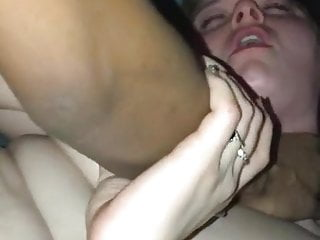 Threesome with two white girls