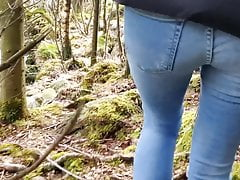 My Stepsister On A Walk Wanted To Pee