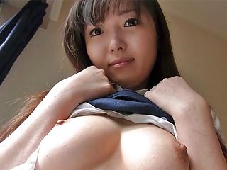 Jap schoolgirl, Haruka Ohsawa were given fucked as an alternative of stu