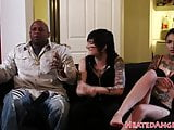 Tattooed punk gets banged by bbc