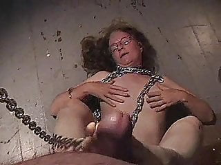 Nerdy stoned mature sub gives young guy sex...
