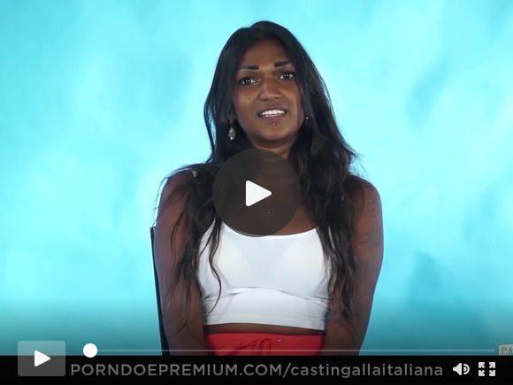 कास्टिंग ऑल इटालियन इंडियन बेब नॉटी इंटरव्यू