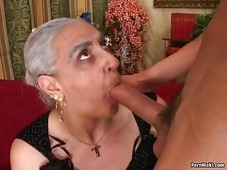 Granny first anal...