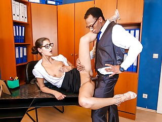 Secretary takes bbc at the office...