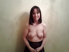 One of the cutest most shy strips i've ever seen, hot milf