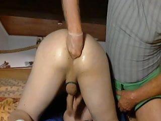 My ass hard...