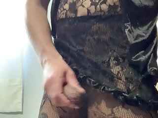man in lingerie
