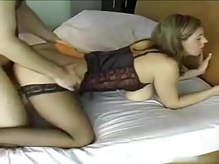 Courting large boobs babe undies