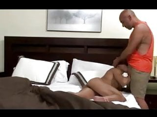 Moaning gets horny beefy guy 039 cock deep...