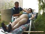wild pregnant sex in nature