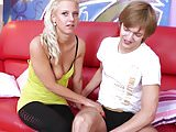 ShootOurSefl - Blonde teen Nathaly Cherrie spread pussy