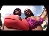 Ebony interracial foursome.