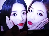 Loona Heejin and Kim Lip cum tribute 1
