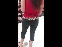 Hete Kandidaat Jong Meisje In Strakke Legging